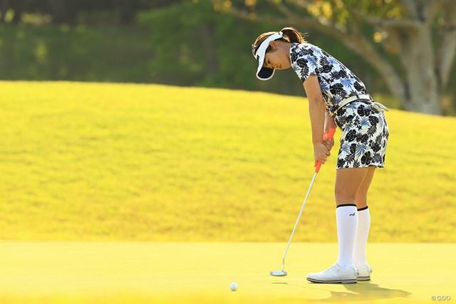 2021年 パナソニックオープンレディースゴルフトーナメント 初日 植竹希望 6アンダーで発進した植竹希望