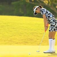 6アンダーで発進した植竹希望 2021年 パナソニックオープンレディースゴルフトーナメント 初日 植竹希望