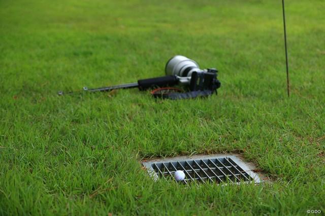 2021年 中日クラウンズ 2日目 カメラ 気を抜くと危ないゴルフの現場