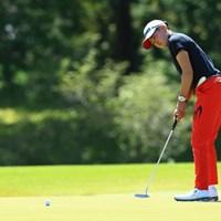 姉の明愛(あきえ)選手 2021年 パナソニックオープンレディースゴルフトーナメント 初日 岩井明愛