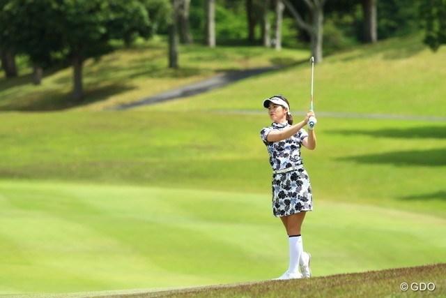 2021年 パナソニックオープンレディースゴルフトーナメント 初日 植竹希望 ツアー初優勝を目指す植竹希望