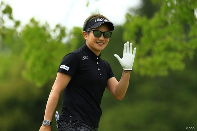 2021年 パナソニックオープンレディースゴルフトーナメント 初日 成田美寿々 きゅん。