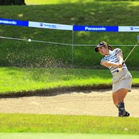 NICE OUT 2021年 パナソニックオープンレディースゴルフトーナメント 初日 林菜乃子