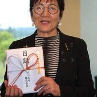 岡田美智子が国内女子ゴルフツアーで初のエージシュートを達成(大会提供) 岡田美智子