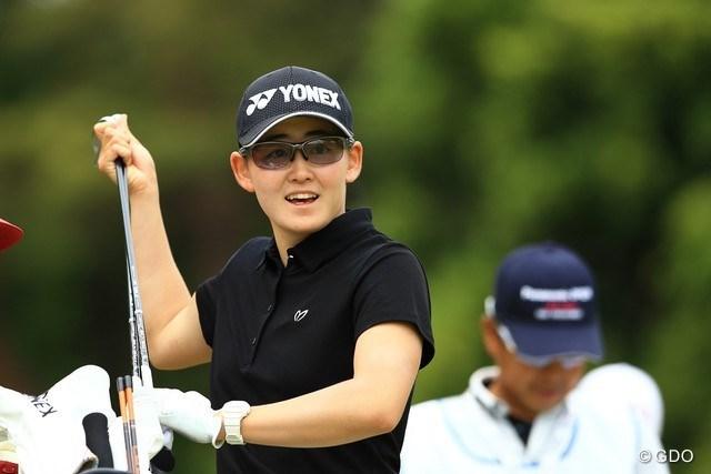 2021年 パナソニックオープンレディースゴルフトーナメント 2日目 岩井明愛 初日好スコアの妹に続いて上位浮上の岩井明愛。2020年「日本女子オープン」ローアマに輝いた期待のニューフェースだ