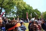2010年 日本プロゴルフ選手権大会 日清カップヌードル杯 最終日 ボランティア