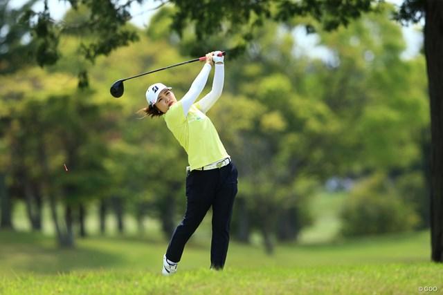 2021年 パナソニックオープンレディースゴルフトーナメント 2日目 古江彩佳 古江彩佳が今季4勝目へ首位浮上