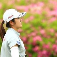 今週から新たなスポンサーもついた稲見萌寧がやはり優勝争いに絡んできた 2021年 パナソニックオープンレディースゴルフトーナメント 2日目 稲見萌寧