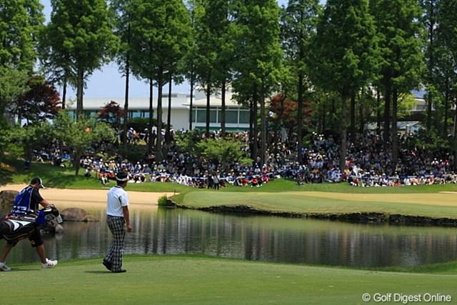 なんかちょっとだけ海外のゴルフ場みたいな雰囲気。