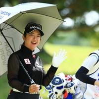 行ってきまーす 2021年 パナソニックオープンレディースゴルフトーナメント 2日目 林菜乃子