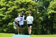 2021年 パナソニックオープンレディースゴルフトーナメント 2日目 大里桃子