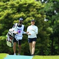 トップと2打差2T 2021年 パナソニックオープンレディースゴルフトーナメント 2日目 大里桃子