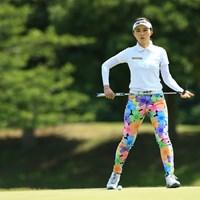 ステキなウェア 2021年 パナソニックオープンレディースゴルフトーナメント 2日目 新武瑠衣