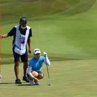 4バーディ2ボギー 2021年 パナソニックオープンレディースゴルフトーナメント 2日目 小祝さくら