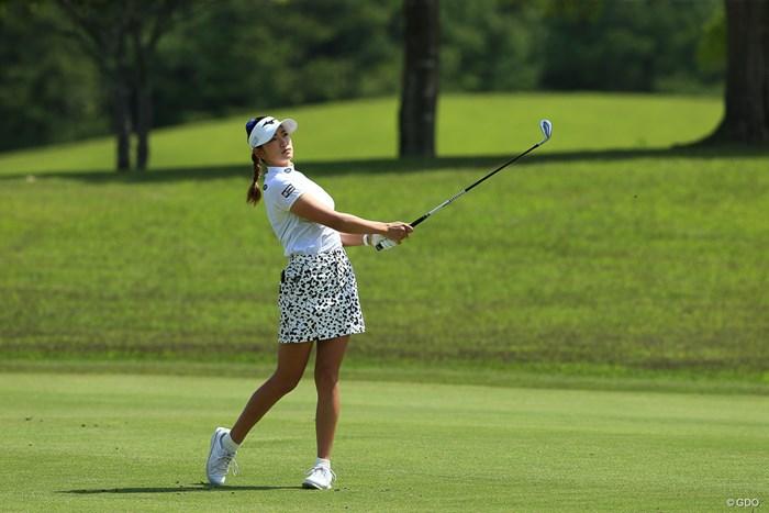 ホールインワンからの急発進 2021年 パナソニックオープンレディースゴルフトーナメント 2日目 原英莉花