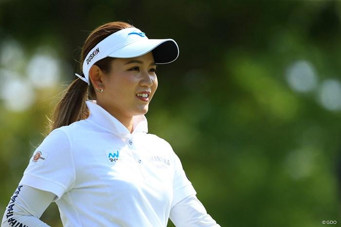 smile 2021年 パナソニックオープンレディースゴルフトーナメント 2日目 吉本ひかる