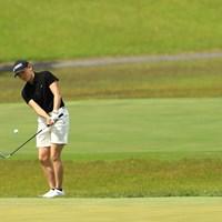千怜さんに見守られながら 2021年 パナソニックオープンレディースゴルフトーナメント 2日目 岩井明愛