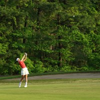 最終ホール 2021年 パナソニックオープンレディースゴルフトーナメント 2日目 井上りこ