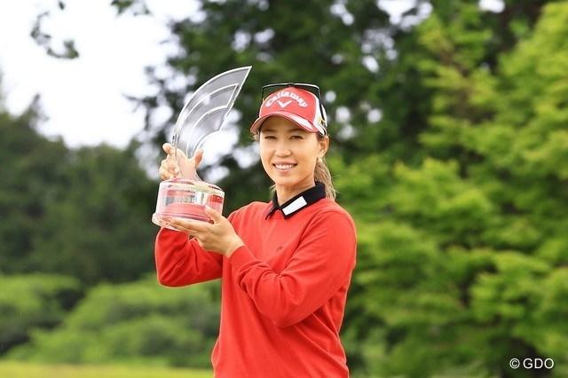 2021年 パナソニックオープンレディースゴルフトーナメント 4日目 上田桃子 上田桃子がプレーオフを制して、16勝目を挙げた