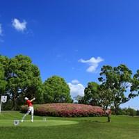 4H 404yards Par4 2021年 パナソニックオープンレディースゴルフトーナメント 3日目 岩井明愛