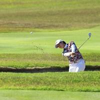 2Hバンカーショット 2021年 パナソニックオープンレディースゴルフトーナメント 3日目 Sランクン