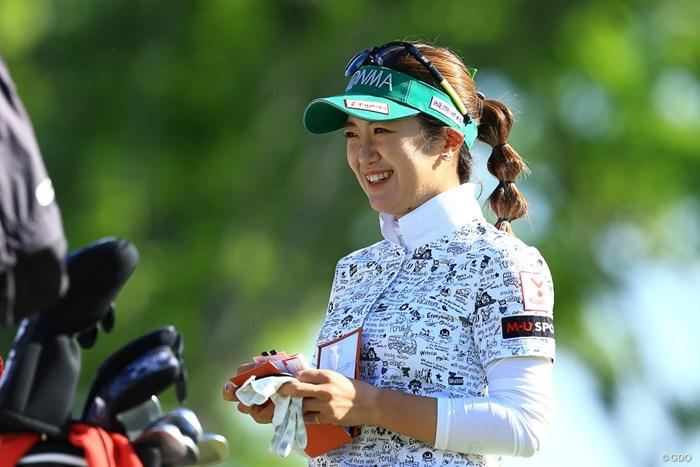 今日もsmile 2021年 パナソニックオープンレディースゴルフトーナメント 3日目 林菜乃子