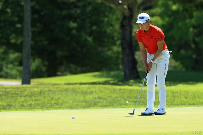 将来有望な選手の一人、岩井明愛 2021年 パナソニックオープンレディースゴルフトーナメント  最終日 岩井明愛