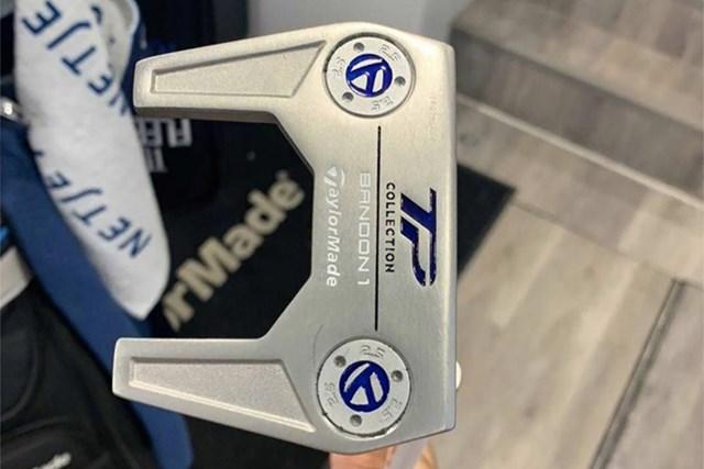 PGAツアーオリジナル ダスティン・ジョンソン ダスティン・ジョンソンのパター(提供:GolfWRX、PGATOUR)