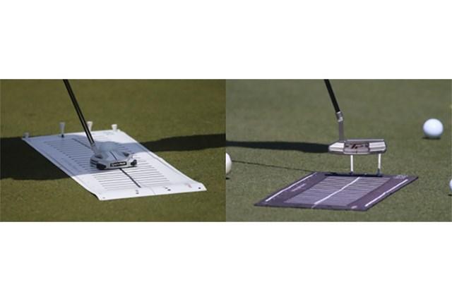 PGAツアーオリジナル パターマット パターマット(提供:GolfWRX、PGATOUR)