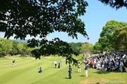 2010年 日本プロゴルフ選手権大会 日清カップヌードル杯 最終日 ギャラリー