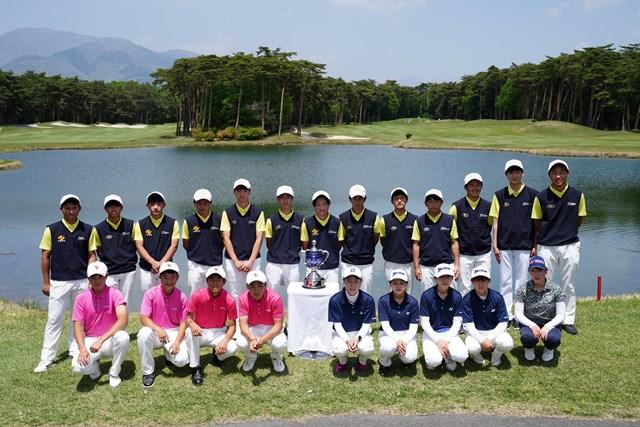 2021年 ジャパンプレーヤーズチャンピオンシップ by サトウ食品 3日目 ジュニアゴルファー トーナメント観戦に招待されたジュニアゴルファー(大会提供)