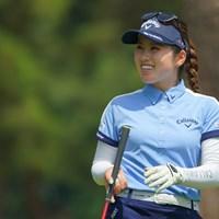 まさにツヨカワ!この笑顔でゴルフ上手くて、そりゃ人気出るよね。 2021年 ワールドレディスチャンピオンシップサロンパスカップ 最終日 西村優菜
