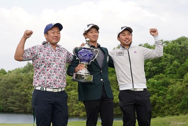 2021年 ジャパンプレーヤーズチャンピオンシップ by サトウ食品 最終日 片岡尚之 東北福祉大の同期だって