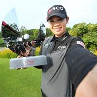 地元タイで大会初制覇を遂げたアリヤ・ジュタヌガン(Thananuwat Srirasant/Getty Images) 2021年 ホンダ LPGAタイランド  最終日 アリヤ・ジュタヌガン
