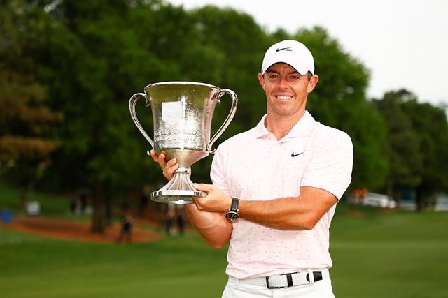 2021年 ウェルズファーゴ選手権 4日目 ロリー・マキロイ マキロイが大会3勝目を挙げた(Jared C. Tilton/Getty Images)