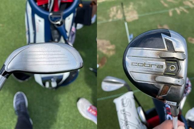 2021年 ブライソン・デシャンボー コブラの特徴であるバフラーのレール付きソール(提供:GolfWRX)