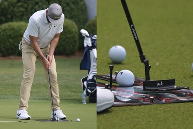 2021年 ウェルズファーゴ選手権 事前 ジェイソン・デイ 新しいパターを試すジェイソン・デイ(提供:GolfWRX、PGATOUR)