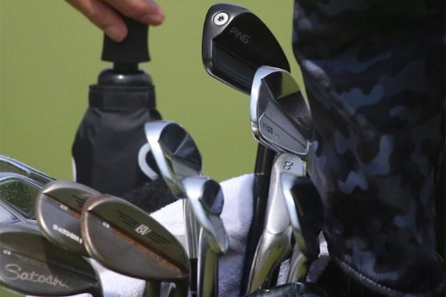 2021年 ウェルズファーゴ選手権 事前 小平智 小平智のキャディバッグ(提供:GolfWRX、PGATOUR)