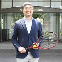 現在はゴルフを離れ、テニスのツアーレップとして活躍している 2021年 藤本哲朗さん