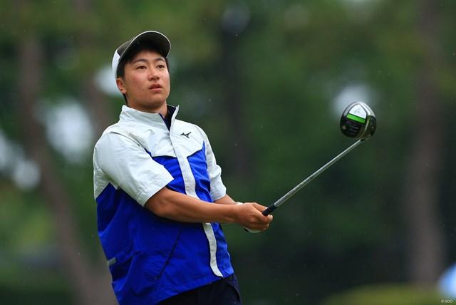 2021年 アジアパシフィックダイヤモンドカップゴルフ 初日 杉浦悠太 アマチュアの杉浦悠太が4アンダーで発進した