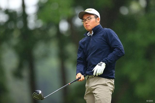 2021年 アジアパシフィックダイヤモンドカップゴルフ 初日 髙田圭一郎 渋野選手の後輩やん