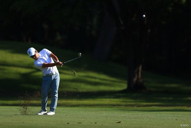 2021年 アジアパシフィックダイヤモンドカップゴルフ 2日目 比嘉一貴 身長158㎝のショットメーカーは大きな夢につながるタイトルを狙う