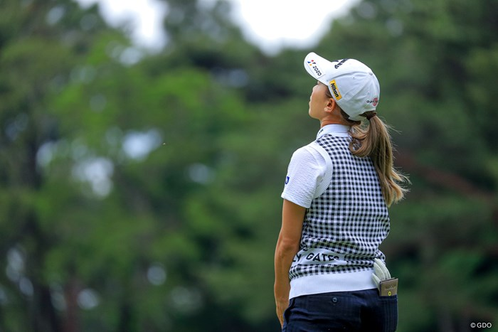 ゴルフはいろんな感情が生まれる 2021年 ほけんの窓口レディース 2日目 上田桃子