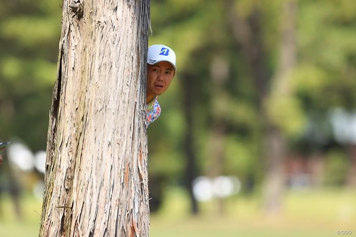 ひょっこりはん 2021年 アジアパシフィックダイヤモンドカップゴルフ 3日目 木下稜介