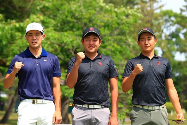 2021年 アジアパシフィックダイヤモンドカップゴルフ 3日目 中島啓太 アマチュア3人が同組