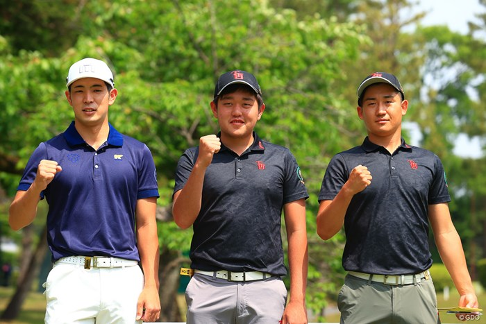 アマチュア3人が同組 2021年 アジアパシフィックダイヤモンドカップゴルフ 3日目 中島啓太