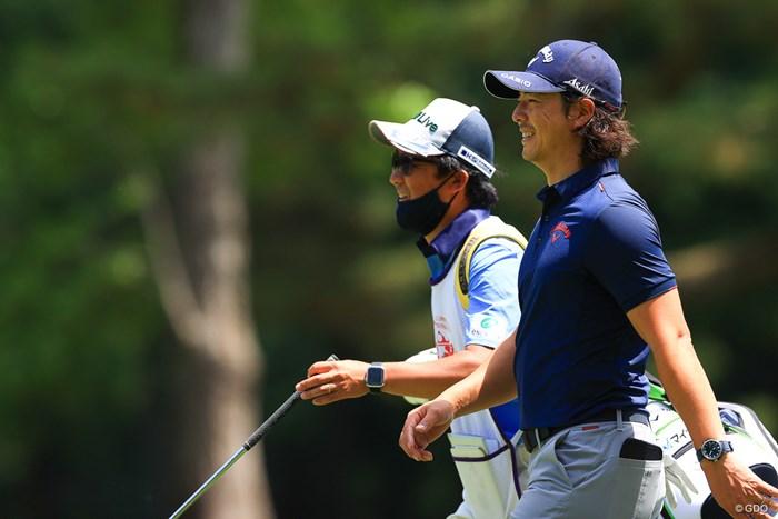 今日も時折の笑顔がたまらん 2021年 アジアパシフィックダイヤモンドカップゴルフ 3日目 石川遼