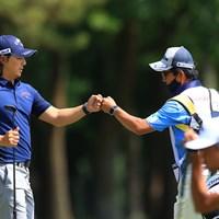 グータッチ 2021年 アジアパシフィックダイヤモンドカップゴルフ 3日目 石川遼