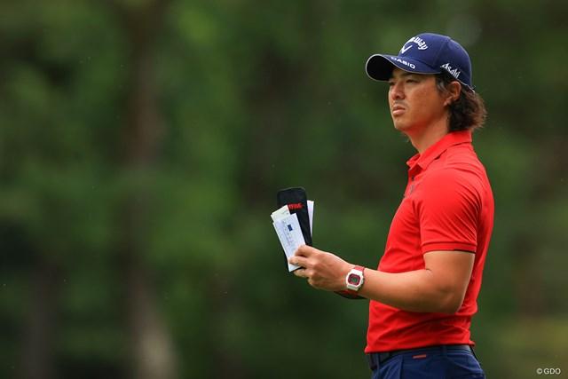 2021年 アジアパシフィックダイヤモンドカップゴルフ 最終日 石川遼 時計のカラーもあってますね