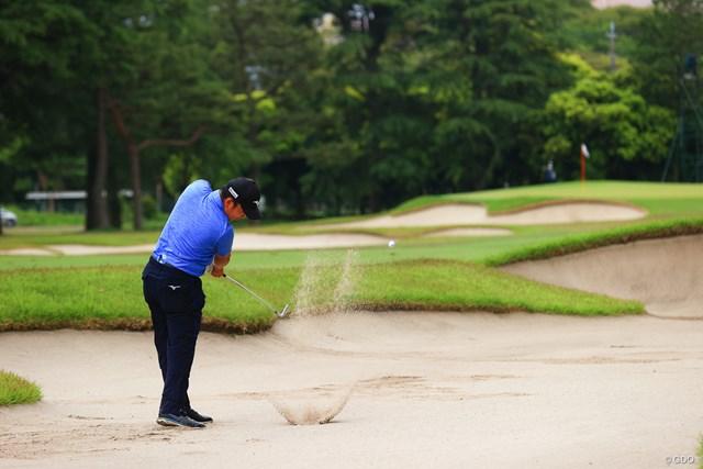 2021年 アジアパシフィックダイヤモンドカップゴルフ 最終日 時松隆光 hole15 par4 413yards second shot